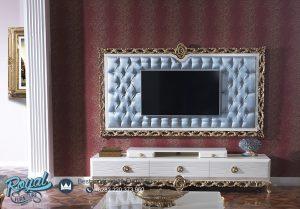 Bufet Tv Mewah Ukir Modern Terbaru Turki Design