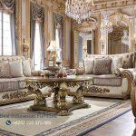 Set Sofa Kursi Tamu Mewah Klasik Terbaru Ukiran Kayu Jati Jepara Terbaru