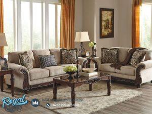 Model Sofa Tamu Jati Minimalis Klasik Terbaru Love Seat