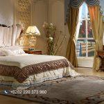 Interior Kamar Tidur Kayu Jati Ukir Jepara Klasik Maroco