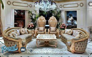 Sofa Tamu Mewah Klasik Royale