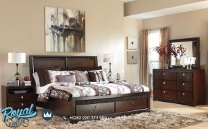 Kamar Tidur Jati Minimalis Awesome King Bed