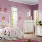 Tempat Tidur Anak Modern Sorong Warna Putih