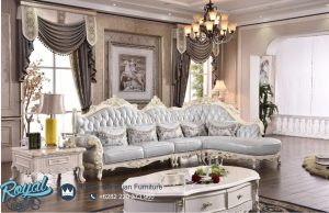 Sofa Leter L Klasik Modern Italian Chaise
