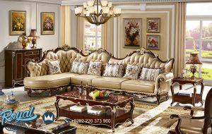 Sofa Ruang Keluarga Kayu Jati Ukir Klasik Eropa