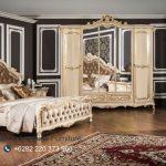 Set Tempat Tidur Jati Ukir Jepara Italyano