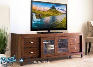 Meja Tv Jati Minimalis Antique Terbaru