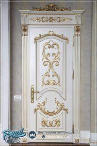 Model Pintu Kamar Mewah Putih Gold