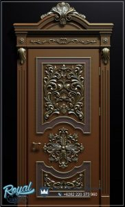 Pintu Kamar Jati Ukir Klasik Antique